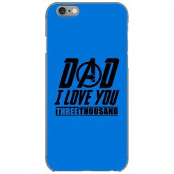 i love you 3000 three thousand times iPhone 6/6s Case | Artistshot