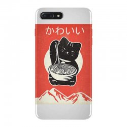 kawaii vintage style japenese ramen cat iPhone 7 Plus Case | Artistshot