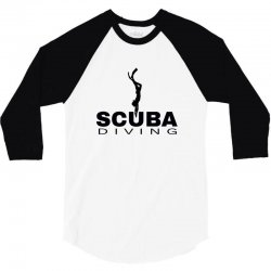 scuba diving 1 3/4 Sleeve Shirt | Artistshot