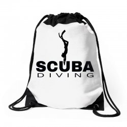 scuba diving 1 Drawstring Bags | Artistshot
