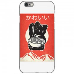 kawaii vintage style japenese ramen cat iPhone 6/6s Case | Artistshot