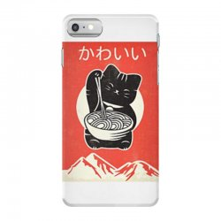 kawaii vintage style japenese ramen cat iPhone 7 Case | Artistshot