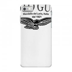moto guzzi mandello del lario mens black biker iPhone 7 Case | Artistshot