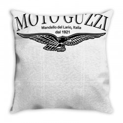 moto guzzi mandello del lario mens black biker Throw Pillow | Artistshot