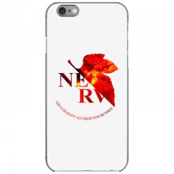 nerv logo iPhone 6/6s Case | Artistshot