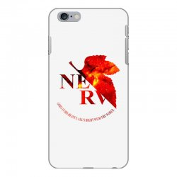 nerv logo iPhone 6 Plus/6s Plus Case | Artistshot