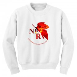nerv logo Youth Sweatshirt | Artistshot