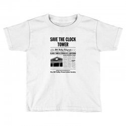 save the clock tower Toddler T-shirt | Artistshot