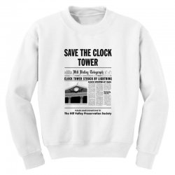 save the clock tower Youth Sweatshirt | Artistshot