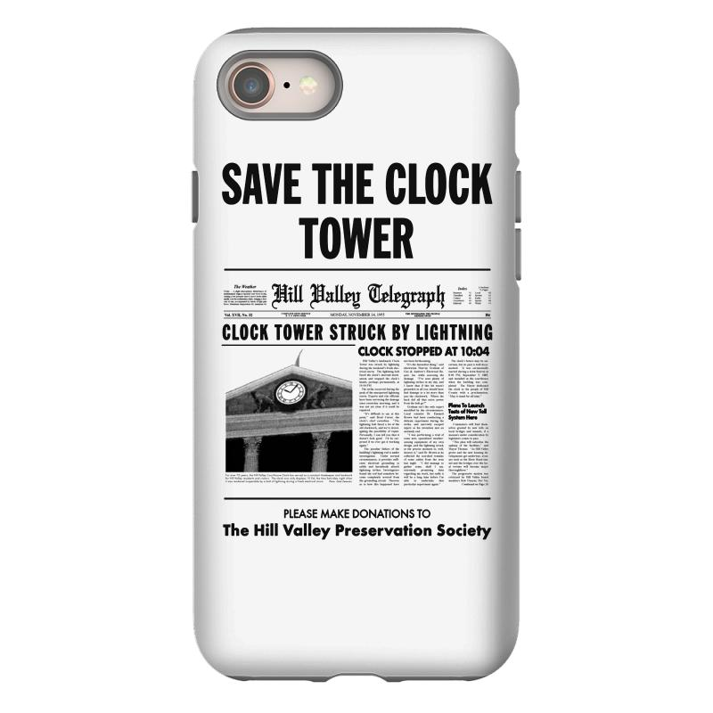Save The Clock Tower Iphone 8 Case | Artistshot