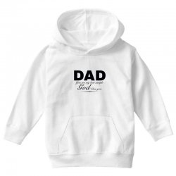 dad god bless you Youth Hoodie | Artistshot