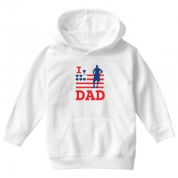 i love my dad Youth Hoodie | Artistshot