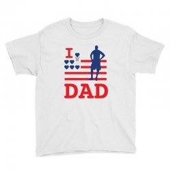 i love my dad Youth Tee | Artistshot