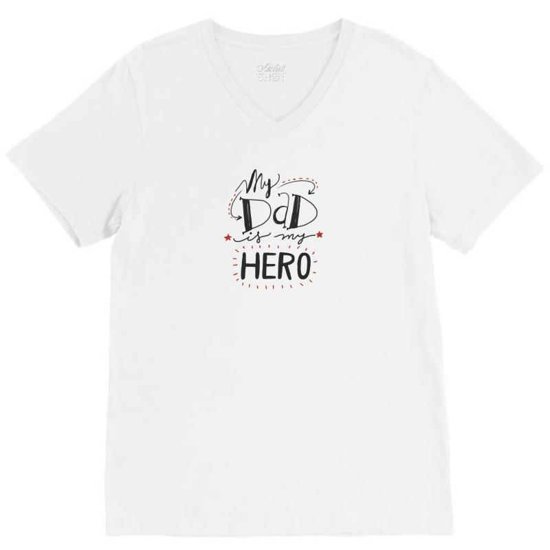 Father's Day Special V-neck Tee   Artistshot