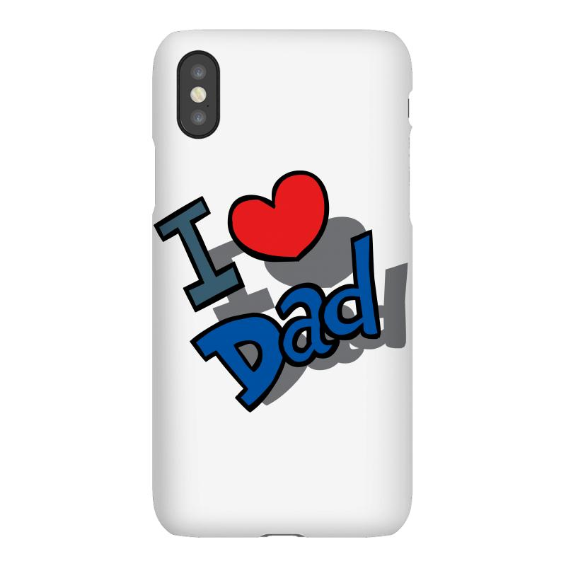 I Love Dad Father's Day Special Iphonex Case | Artistshot