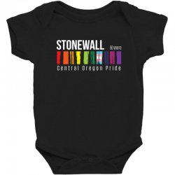 stonewall 50 years central oregon pride Baby Bodysuit | Artistshot