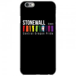 stonewall 50 years central oregon pride iPhone 6/6s Case | Artistshot