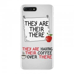 they are their there they are having their coffee over there iPhone 7 Plus Case | Artistshot