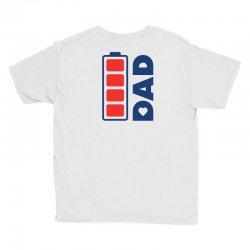 I love my Dad creative charger icon Youth Tee | Artistshot