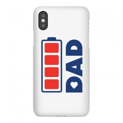 I Love My Dad Creative Charger Icon Iphonex Case Designed By Lion Star Art