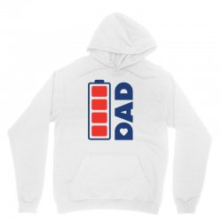 I love my Dad creative charger icon Unisex Hoodie | Artistshot