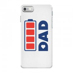 I love my Dad creative charger icon iPhone 7 Case | Artistshot