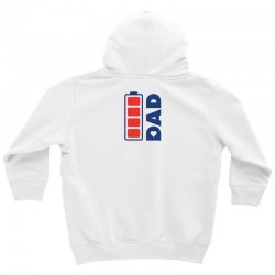 I love my Dad creative charger icon Youth Hoodie | Artistshot
