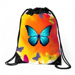 Butterfly Life Drawstring Bags | Artistshot