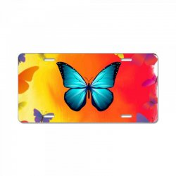 Butterfly Life License Plate | Artistshot