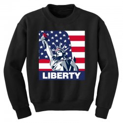 liberty Youth Sweatshirt | Artistshot