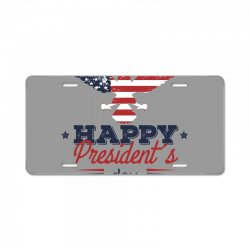 happy president's day License Plate | Artistshot