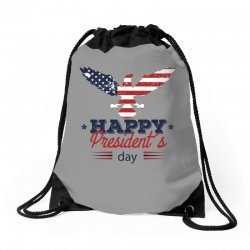 happy president's day Drawstring Bags | Artistshot