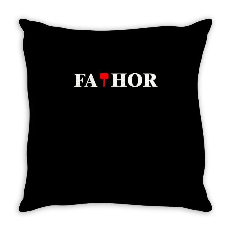 Fa Thor Throw Pillow | Artistshot