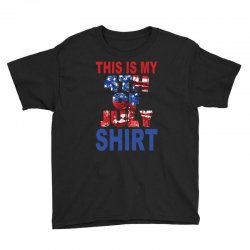 this is my 4th of july shirt Youth Tee | Artistshot