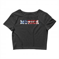 murica Crop Top | Artistshot