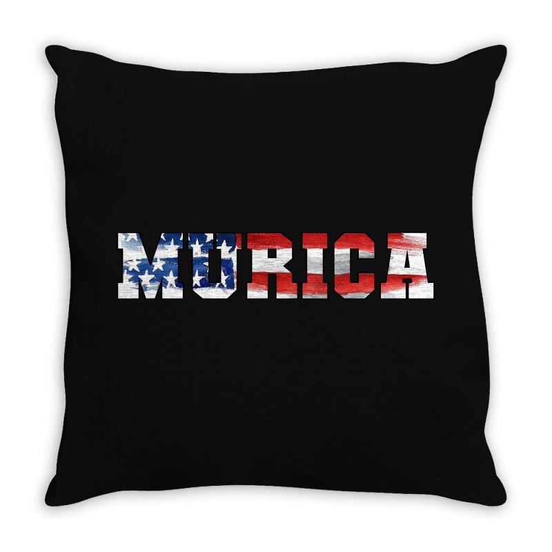 Murica Throw Pillow | Artistshot