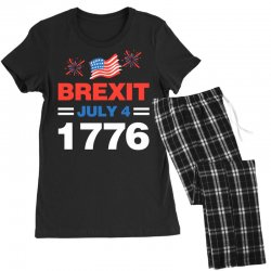 brexit july 4 1776 Women's Pajamas Set | Artistshot