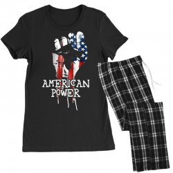 american power Women's Pajamas Set | Artistshot