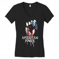 american power Women's V-Neck T-Shirt | Artistshot