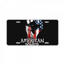 american power License Plate | Artistshot