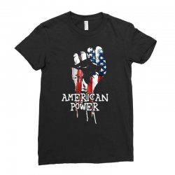 american power Ladies Fitted T-Shirt | Artistshot