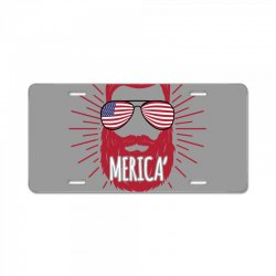 america man License Plate | Artistshot