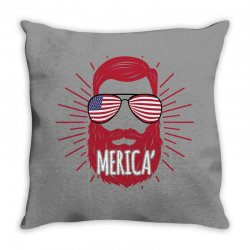 america man Throw Pillow | Artistshot