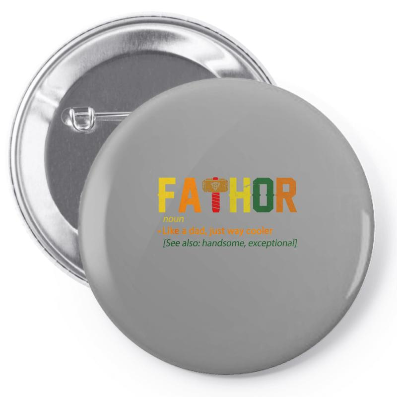 Fa Thor Pin-back Button | Artistshot
