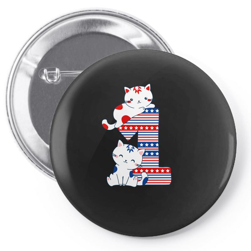 American One Year Old Baby Pin-back Button | Artistshot
