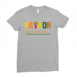 fa thor Ladies Fitted T-Shirt | Artistshot
