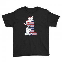 american one year old baby Youth Tee | Artistshot