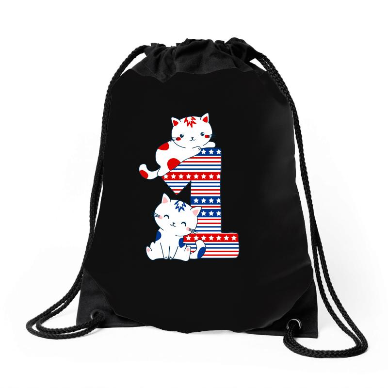 American One Year Old Baby Drawstring Bags | Artistshot