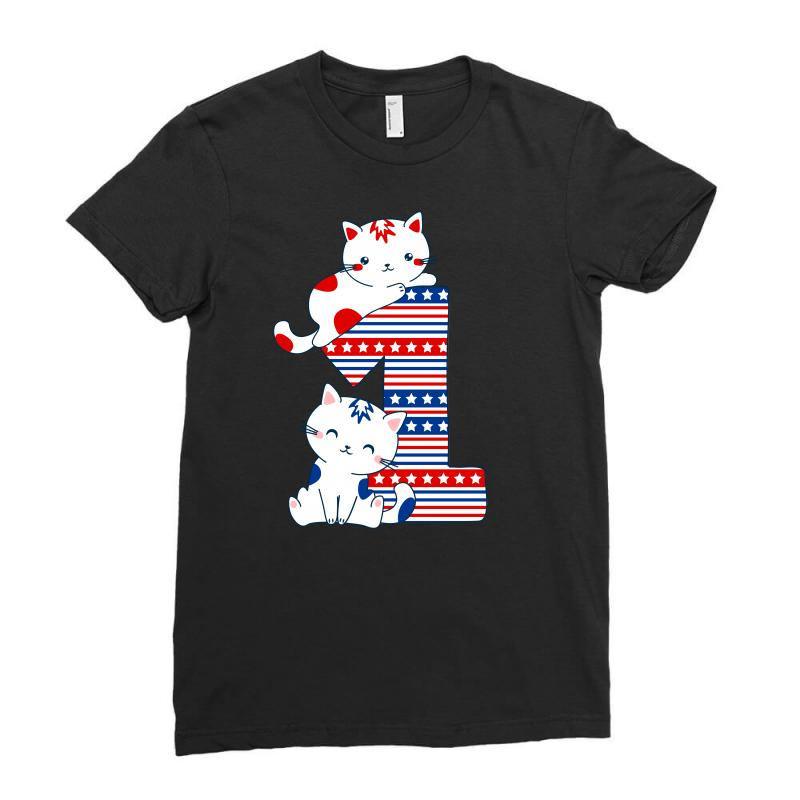 American One Year Old Baby Ladies Fitted T-shirt | Artistshot