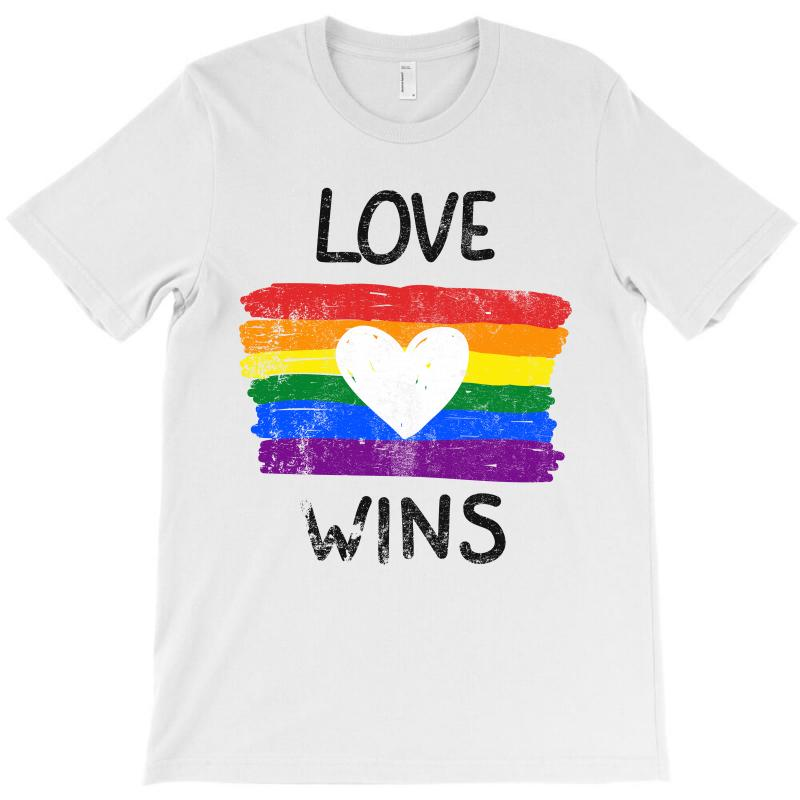Love Wins For Light T-shirt | Artistshot